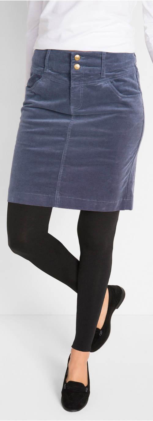 Áfonyás női szoknya leggingshez