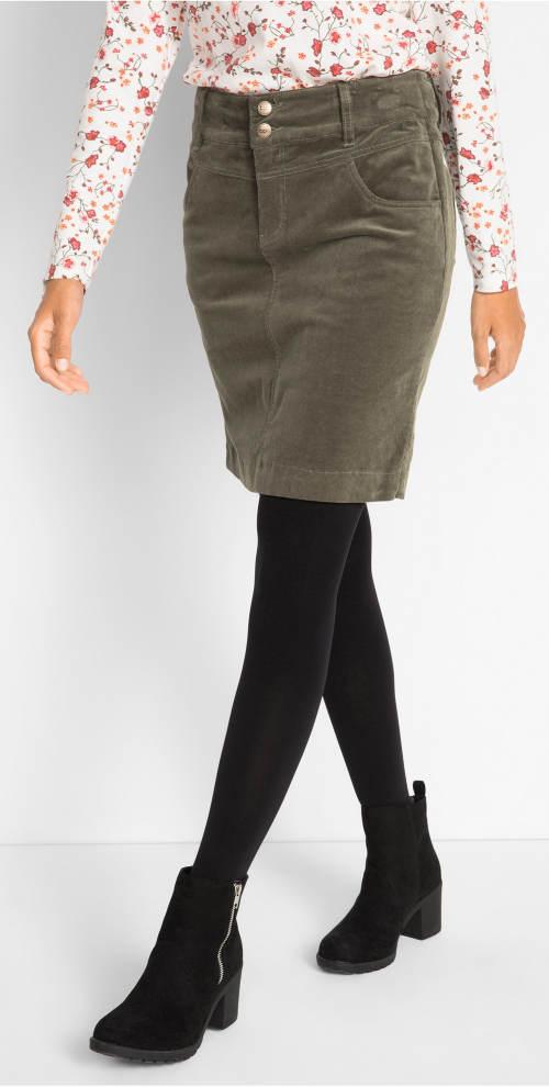 Kötelezett szoknya fekete nadrághoz