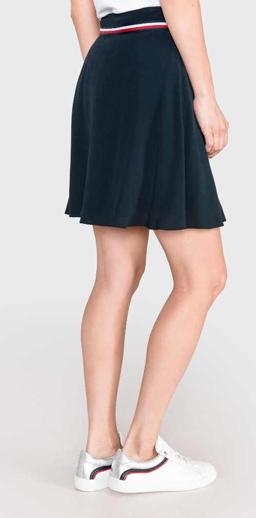 Designer női szoknya kék színben