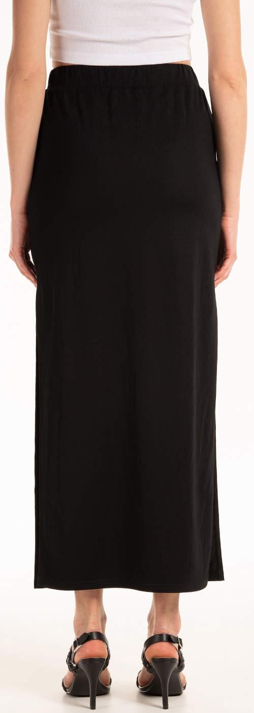Egyszínű fekete hosszú szoknya eladó