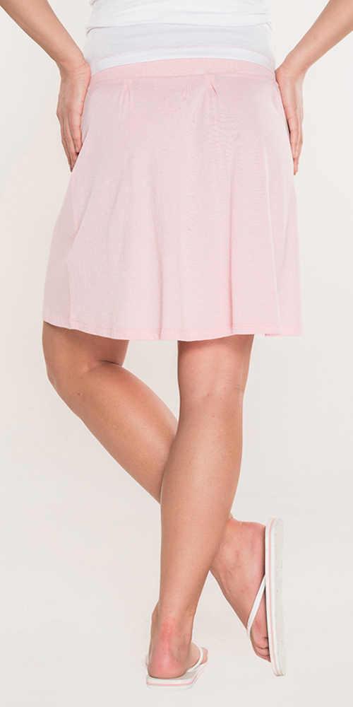 Rövid nyári rózsaszín szoknya SAM 73