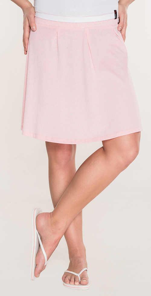 Világos rózsaszín olcsó nyári szoknya